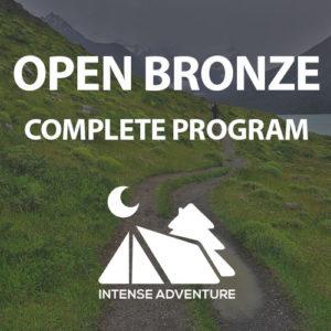 Open Bronze Complete Program